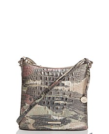 Katie Muse Melbourne Embossed Leather Crossbody