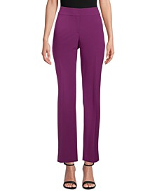 Stretch Flare-Leg Pants, Created for Macy's