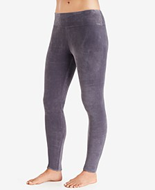 Double-Plush Velour Leggings