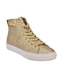 GUESS Women's Lammi High Top Sneakers