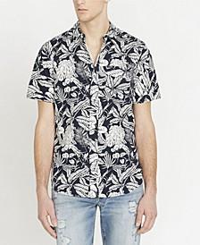 Men's Sajat Printed Short Sleeve Woven Shirt