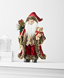 """12""""H Standing Santa, Created for Macy's"""