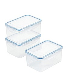 Purely Better™ 6-Pc. Rectangular Food Storage Containers, 37-Oz.