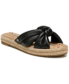 Women's Abbene Knotted Slide Sandals