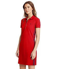 Buttoned Polo Dress