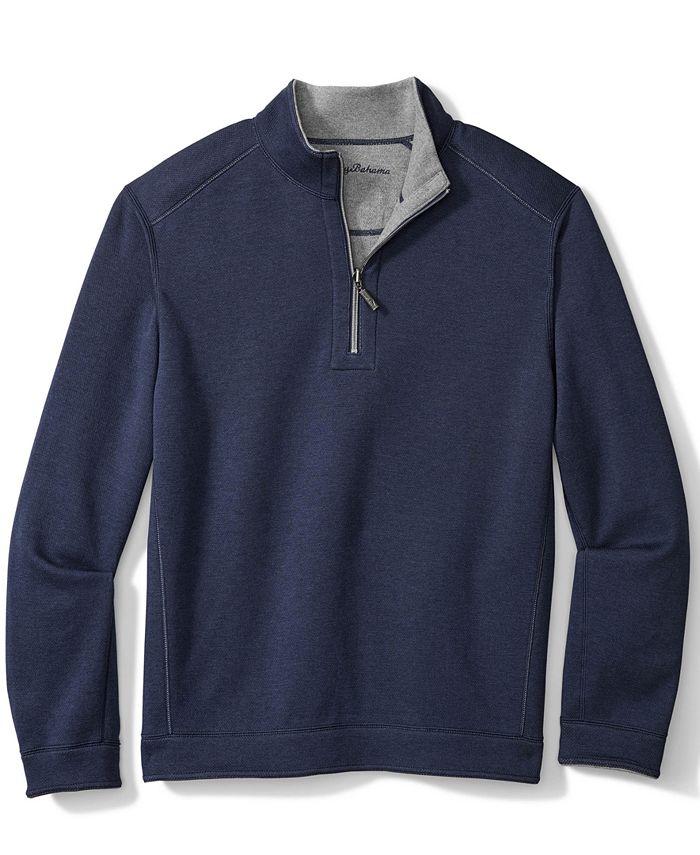 Tommy Bahama - Men's Quarter-Zip Flip Shore Shirt