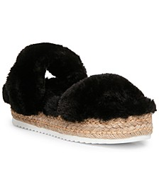 Women's Katana Flatform Slippers