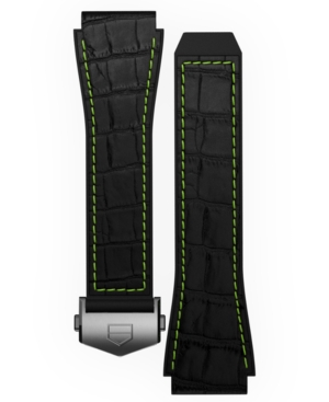 Tag-Heuer-Mens-Connected-Black-Rubber-Smart-Watch-Strap