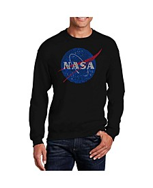 Men's Word Art NASA's Most Notable Missions Crewneck Sweatshirt