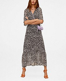 Women's Print Wrap Dress