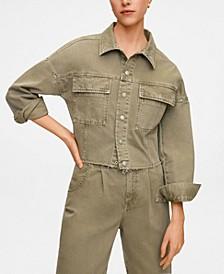 Women's Color Denim Jacket
