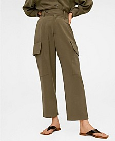 Women's Flowy Cargo Trousers