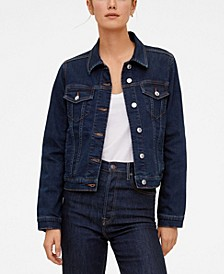 Women's Dark Denim Jacket