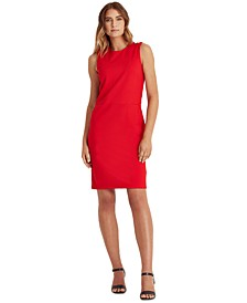 Slim-Fit Ponte Dress