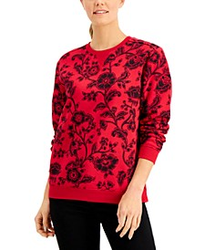 Printed Sweatshirt, Created for Macy's