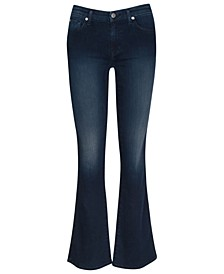 'A' Pocket Flare Jeans