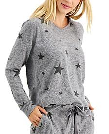 Petite Star-Print Hoodie, Created for Macy's
