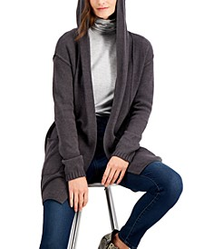 Petite Hooded Cardigan, Created for Macy's