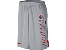 Nike Men's Ohio State Buckeyes Breathe Knit Shorts