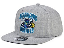 New Orleans Hornets Hardwood Classic Team Heather Fitted Cap