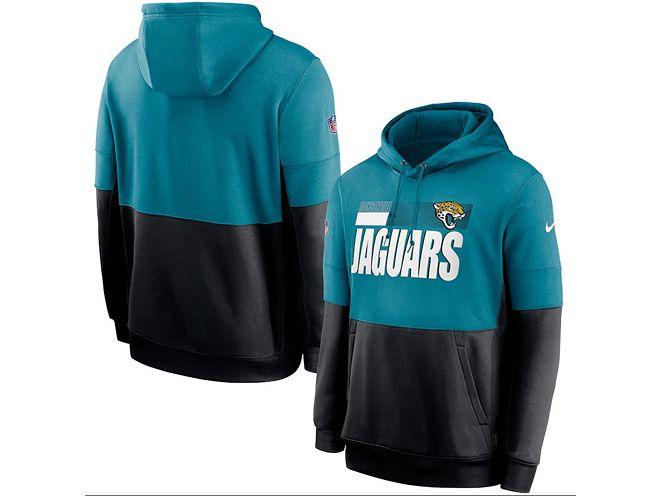 Nike Jacksonville Jaguars Men's Sideline Team Lockup Therma Hoodie