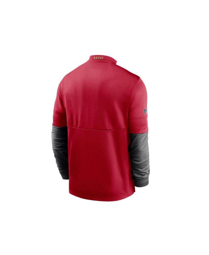 Nike San Francisco 49ers Men's Sideline Half-Zip Therma Top & Reviews - Sports Fan Shop By Lids - Men - Macy's