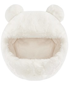 Baby Boys and Girls Solid Faux Fur Pom Hat, Created for Macy's