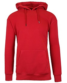 Men's Slim-Fit Fleece-Lined Pullover Hoodie