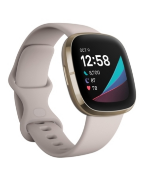 Sense Lunar White Strap Smart Watch 39mm