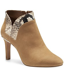 Women's Larmana Contrast Trim Dress Booties