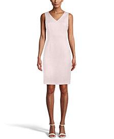 Anne Klein V-Neck Sheath Dress