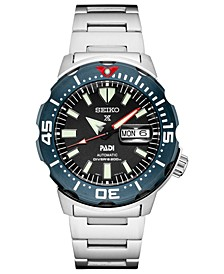 Men's Automatic Prospex Stainless Steel Bracelet Watch 42.4mm