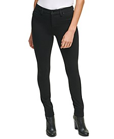 Plus Size Mid Rise Ponte Pants