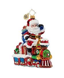 On The Tracks Santa