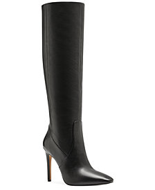 Vince Camuto Women's Fendels Wide-Calf Stiletto Boots