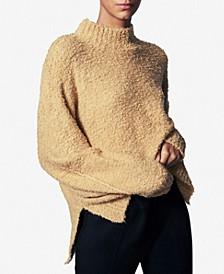 Oversized Mock-Neck Sweater