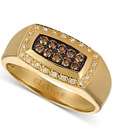 Men's Diamond Statement Ring (3/8 ct. t.w.) in 14k Gold