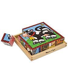 Melissa and Doug Kids Toy, Farm Cube Puzzle
