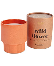 Firefly Wild Flower Scented Terracotta Ceramic Candle