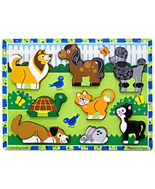 Melissa and Doug Kids Toy, Pets Chunky Puzzle