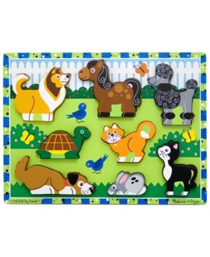 Melissa and Doug Kids Toy Pets Chunky Puzzle
