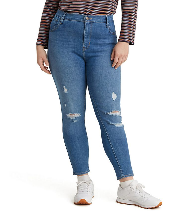 Levi's - Trendy Plus Size 720 High-Rise Super Skinny Jeans