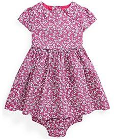 Ralph Lauren Baby Girls Floral Dress and Bloomer