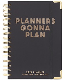 Planners Gonna Plan 17 Month Twin Wire Agenda