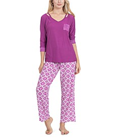 Stretch Fleece Pajama Set