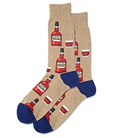 Men's Socks, Whiskey Crew