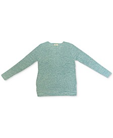 Cotton Rib-Knit V-Neck Sweater, Created for Macy's