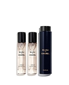 Men's 3-Pc. BLEU DE CHANEL Parfum Twist & Spray Set