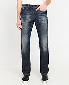 Six-X Men's Straight Denim Jeans