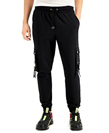 INC Men's Edward Knitted Cargo Jogger Pants, Created for Macy's